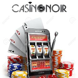 machines à sous casino noir